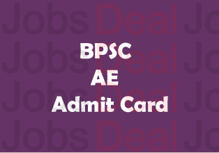 BPSC AE Admit Card 2017