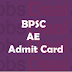 BPSC AE Admit Card 2017 | Bihar PSC Assistant Engineer Hall Ticket