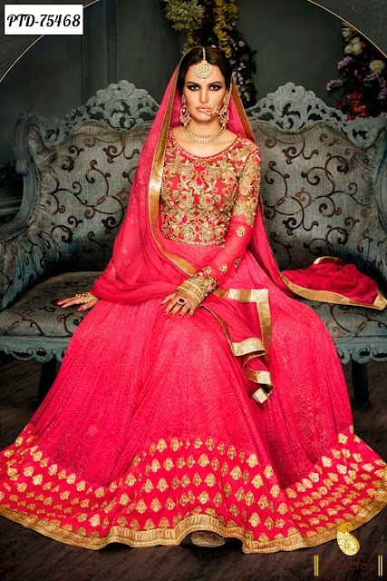 Top Wedding Wear Anarkali Salwar Suits Online Shopping At Pavitraa.in