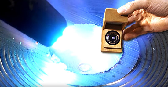 Queimando diamantes com um maçarico - O que acontece?