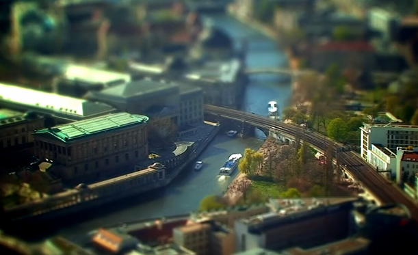 Little Big Berlín. Tilt Shift Video