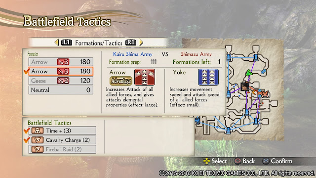 Review – Samurai Warriors 4 Empires tactics