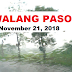 #Walangpasok: Class Suspension, November 21, 2018 - Wednesday