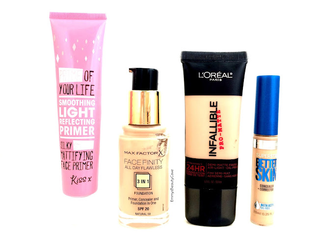 Drugstore Makeup, Makeup for oily skin