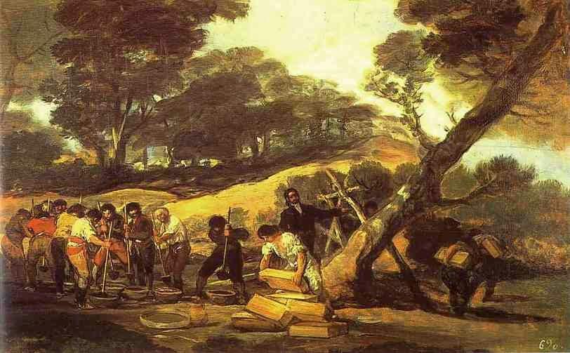 Fábrica de Pó de Serra - Goya, Francisco e suas pinturas ~ Foi um importante pintor espanhol da fase do Romantismo