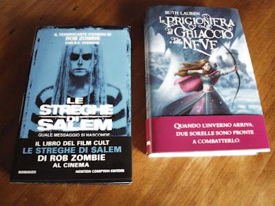 nuovi libri acquistati