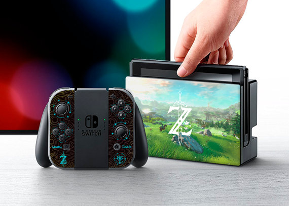¡Empiezan a salir diseños para personalizar nuestra Nintendo Switch!