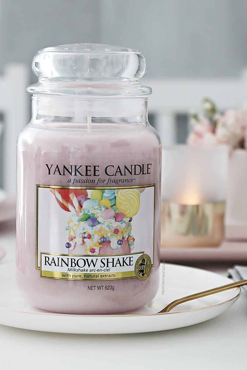 yankee candle rainbow shake wielkanoc 2019