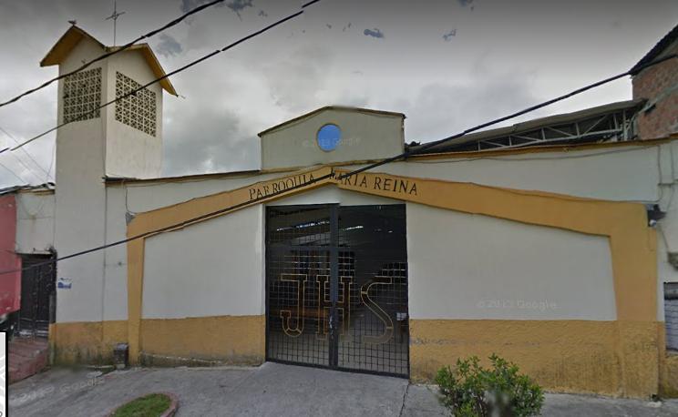 iglesia del barrio CERVANTES en manizales