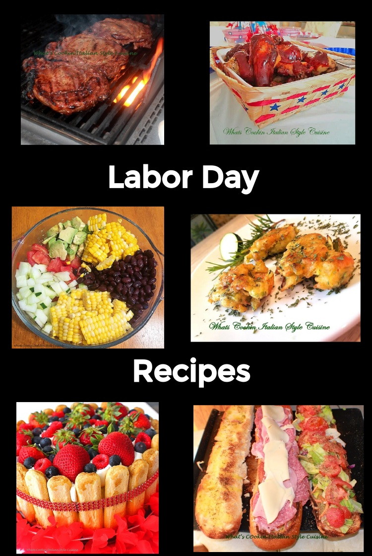 this is a round up of recipes for labor day rain or shine there is baked, grilled and alternatives to cook for great weather or bad weather