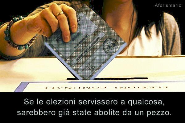 Favorito Aforismario®: Elezioni ed Elettori - 100 Frasi e battute sul Voto BC03