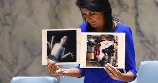 η Αμερικανίδα πρεσβευτής στον ΟΗΕ Νίκι Χέιλι