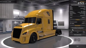 Daimler Freightliner Inspiration truck mod