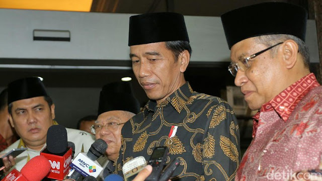 Jokowi dan KH Said Aqil Siradj Masuk 20 Tokoh Besar Muslim Paling Berpengaruh di Dunia