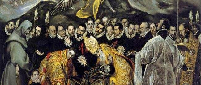 Greco Toledo entierro conde orgaz