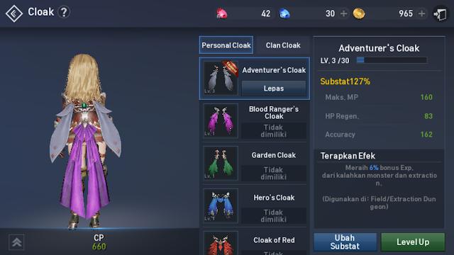 Adventurer's Cloak