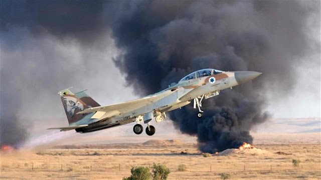 Israeli jets attack Syrian government military positions in Golan Heights