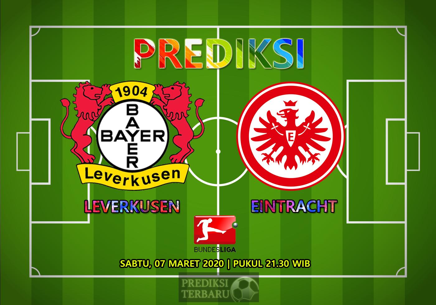 Prediksi Bayer Leverkusen Vs Eintracht Frankfurt Sabtu 07 Maret