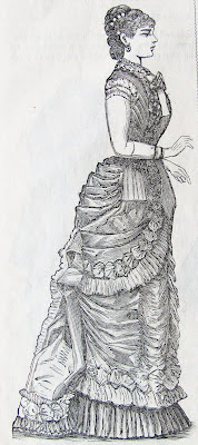 1879 bustle dress