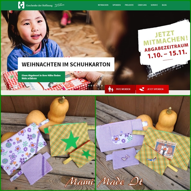 Weihnachten im Schuhkarton - Operation Christmas Child