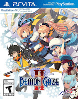 Demon Gaze 2 Game Cover PS Vita