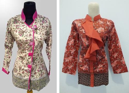 model baju batik atasan wanita