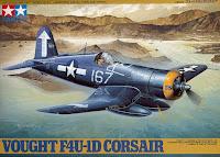Galerie photos de la maquette du F4U-1D Corsair de Tamiya au 1/48.