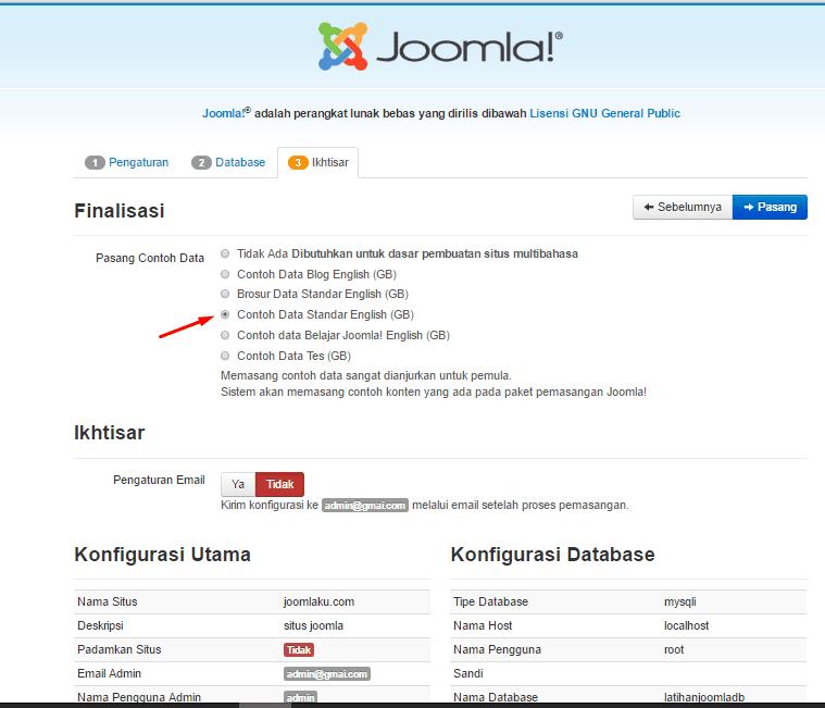 panduan lengkap cara membuat website dengan joomla - 28 images ...