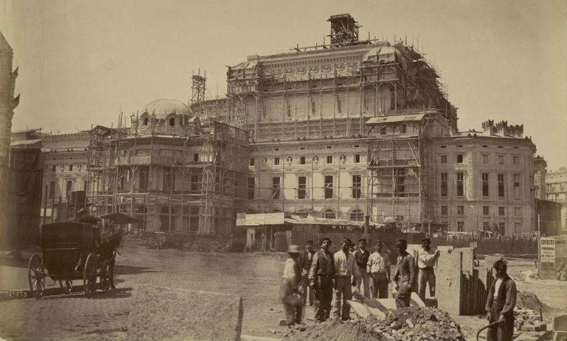 Construcción de la Ópera Garnier