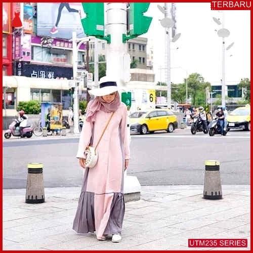 UTM235M101 Baju Minada Muslim Maxi UTM235M101 0EB | Terbaru BMGShop