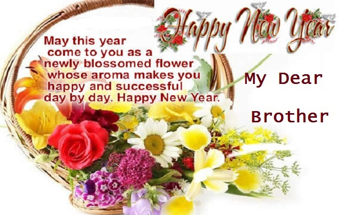 Image result for New Year Wishes Quotes 2017 for Brother