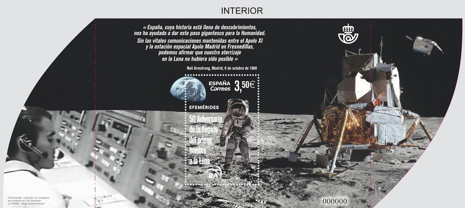 50 Aniversario de la llegada del primer hombre a la luna