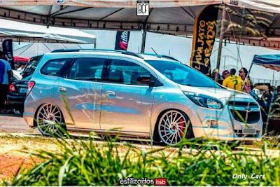 Chevrolet Spin Rebaixada