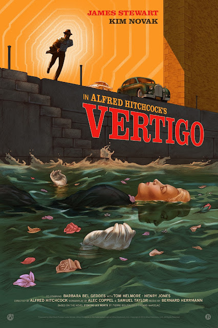 Vertigo Regular Edition Screen Print by Jonathan Burton x Mad Duck Posters