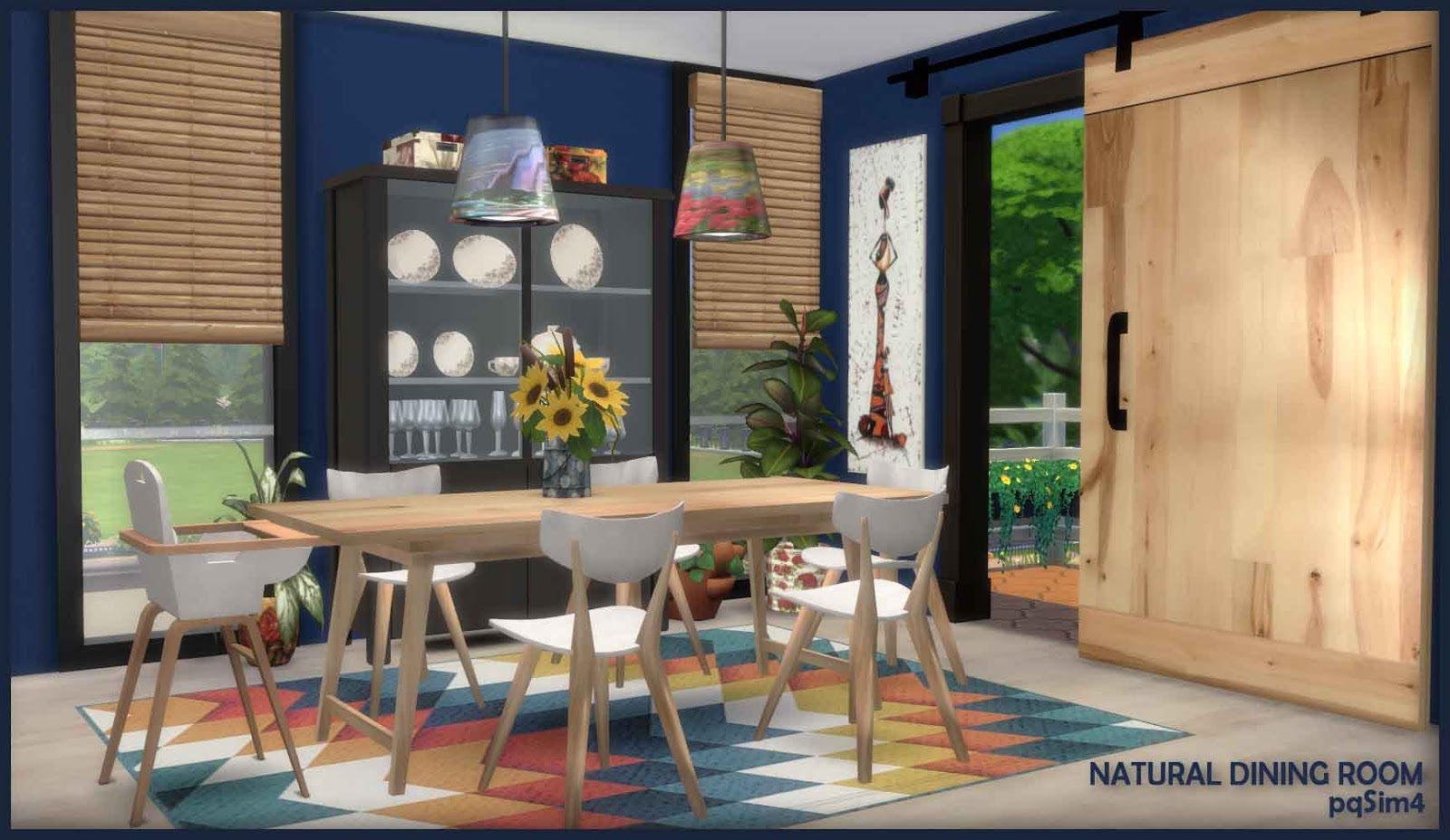 Muebles Sims 4 Natural Dining Sims 4 Custom Content