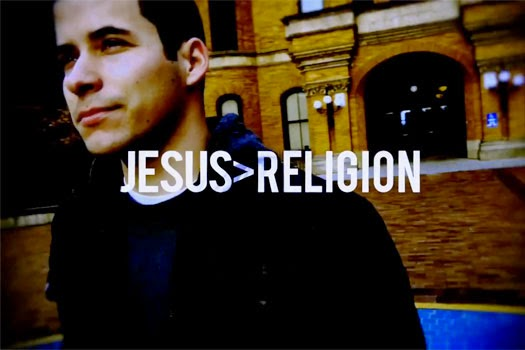 Jesus is Greater than Religion according to Jeff Bethke
