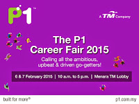 The P1 Career Fair February 2015 | Menara TM Lobby