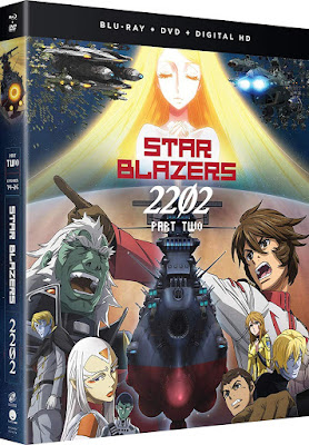 Star Blazers 2202 Space Battleship Yamato Part Two Bluray Dvd Combo