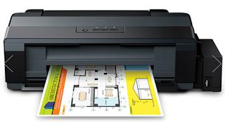 reset pada printer Epson L series, seperti Tipe Epson L100, Epson L110, Epson 210, Epson L300, Epson L350 dan Epson L355 Tanpa Sofware