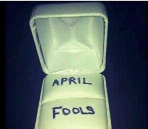 Ladies, What Would You Do If Your Man Does This On April Fools Day?