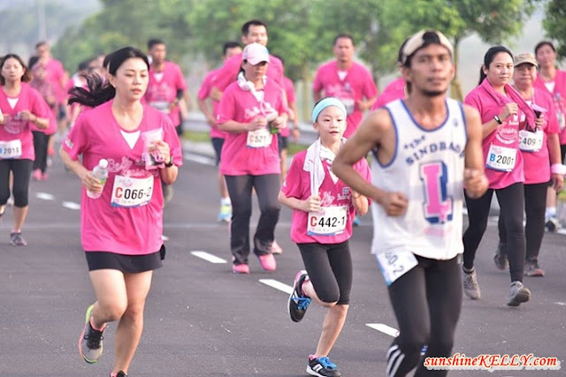 Be My Reason Shower Run 2016, Shokubutsu Shower Run 2016, Breast Self-Check Awareness