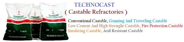 Technocast Castable Refractory/Semen Cor Tahan Api & Tahan Suhu Tinggi