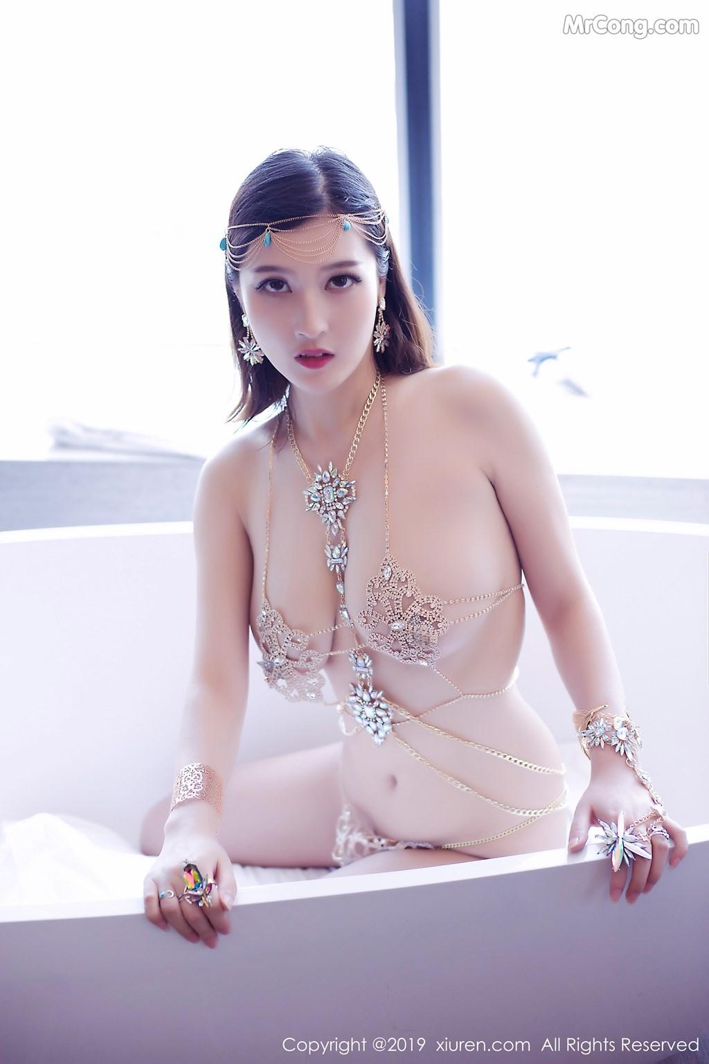 Image XIUREN-No.1409-Alina-MrCong.com-009 in post XIUREN No.1409: 双笙Alina (46 ảnh)