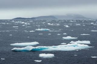 A redução do Gelo do Artico atinge um novo recorde