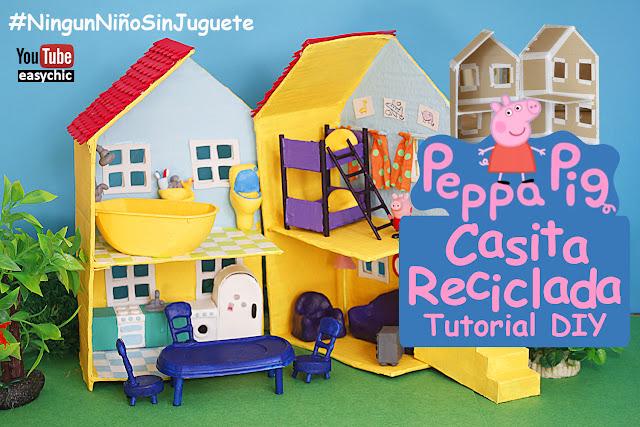como hacer la casa de peppa pig