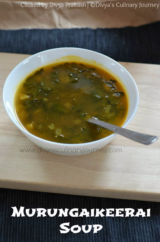 Murungai Keerai Soup | Drumstick leaves Soup | Moringa leaves Soup