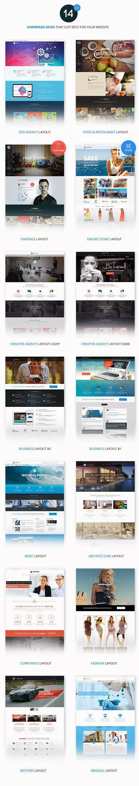 Multipurpose Bootstrap HTML5 Template 2015