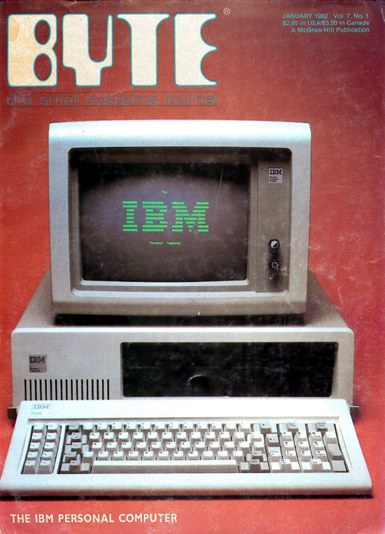 IBM 5150 PC on Byte Magazine