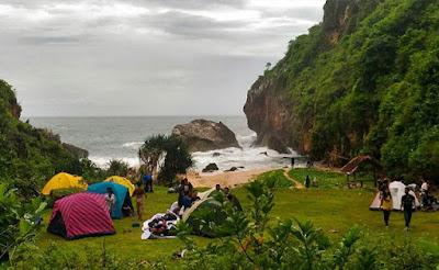 pantai gres di Jogja yang paling indah dan belum terjamah 17 Pantai Baru Di Jogja Yang Paling Indah Dan Belum Terjamah