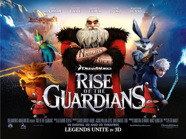 Rise of the guardians live stream! December 7 2012 830pm est.